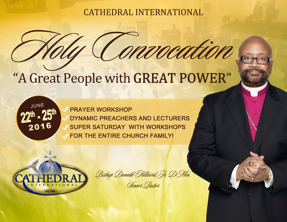 Holy convocation 2016 cathedral international
