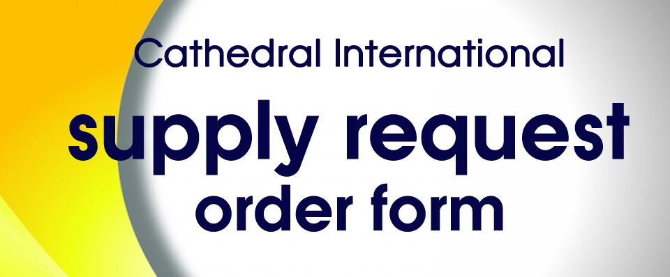 Order Request Form – Cathedral International