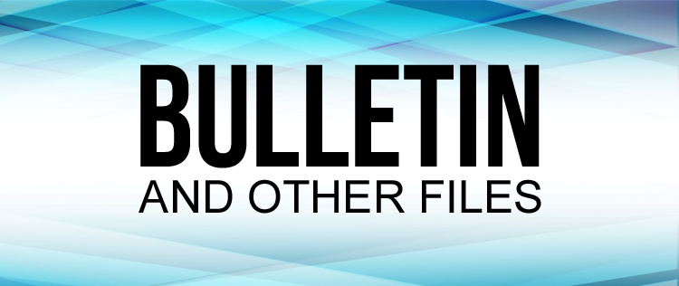 Bulletins and Other File Downloads